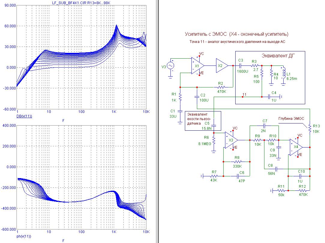 Схемы усилителей с эмос
